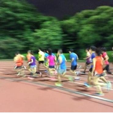 harriers track race
